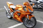 Пылающий оранжевый — Стоковое фото