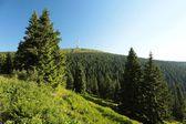 Summit of the mountain Praded — Stock Photo