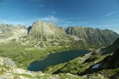 Valley of five ponds in the Tatra Mountains — Stok fotoğraf