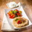 Tortillas with capsicum — Stock Photo #30283277
