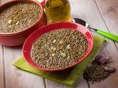 Lentils soup — Stock Photo