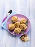 Almonds muffins — Stock Photo