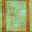 Old frame in vintage interior — Foto de Stock