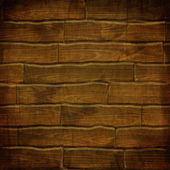 Old brown wooden planks background — Stock Photo