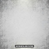 Metal white vector grid — Stock Vector