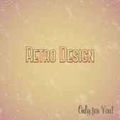 Linen Pattern in retro style — Vector de stock
