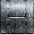 Stock Photo: Grunge iron plate