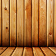 Stock Photo: Old wood interior