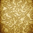 Gold metal pattern — Stock Photo