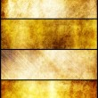 Banners set of gold metal texture — Stock Photo #34024163