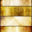 Banners set of gold metal texture — Stock Photo #34024237