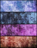 Banners set of grunge texture — Stockfoto