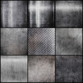 Metal grid set — Stock Photo