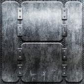 Grunge ijzeren plaat — Stockfoto