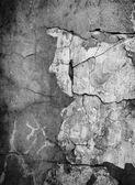 Grunge black wall urban texture — Stock Photo