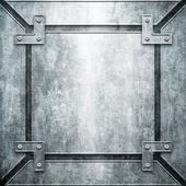 Fundo de construção em metal — Foto Stock