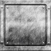 Metalen constructie achtergrond — Stockfoto