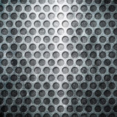 Metal grid background — Stock Photo