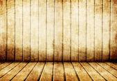 Stare drewniane wnętrze — Zdjęcie stockowe