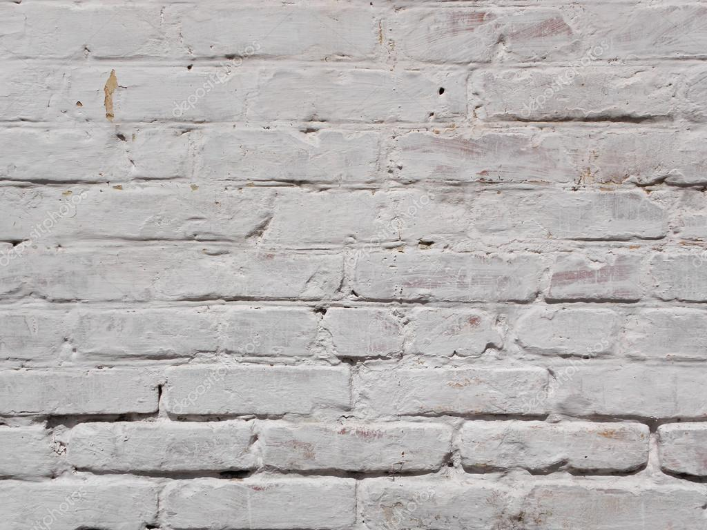 Textura de pared de ladrillo blanco viejo foto de stock - Pared ladrillo blanco ...