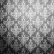 Black wallpaper with antique pattern — ストック写真