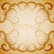 Vintage vector frame — Stock Vector