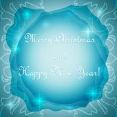 Vánoční plakát — Stock vektor