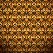 Nahtlose damask wallpaper — Stockvektor
