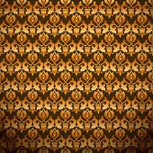 Papel de parede de damasco sem emenda — Vetorial Stock