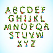 Christmas Alphabet — Vecteur