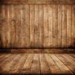 Old wood interior — Stock Photo