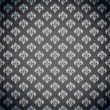 Excellent seamless black wallpaper — Imagen vectorial