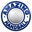 Stock Photo: Amazing Handball circular design