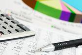 Finansowo księgowe — Zdjęcie stockowe