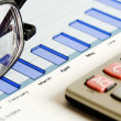 Financial accounting — Stock Photo #18438147