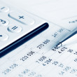 Financial accounting — Stock Photo #18494559
