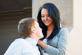 Casal jovem feliz — Fotografia Stock