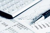Finanzbuchhaltung — Stockfoto