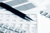 Financial accounting — 图库照片