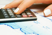 Contabilidad financiera — Foto de Stock