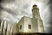 Lighthouse (grunge) — Stock Photo