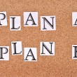 Plan strategy — Stock Photo #12842923