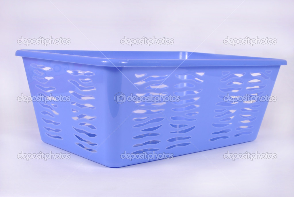 Storage plastic containers on white  Stock Photo #12842957