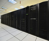 Data center computers — Stock Photo
