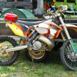motorcross bike — Stock Photo