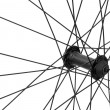 Stock Photo: Bicycle spoke detail