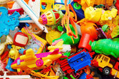 Toys background — Stock Photo