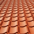 Metal roof — Stock Photo