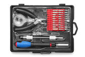 Screwdriver tool set — 图库照片