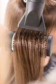 头发干燥 — 图库照片
